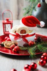 Weihnachtskekse Mit Marmeladenfüllung.Weihnachtskekse Mit Marmeladenfüllung Buy This Stock Photo And