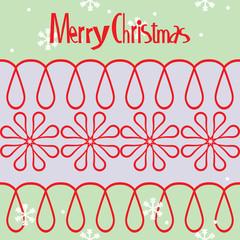 Christmas banner vector design