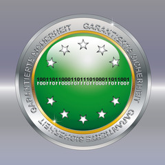 Logo garantierte Datensicherheit 01
