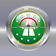 Logo garantierte Datensicherheit