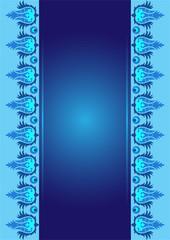 blue ottoman serial patterns ten