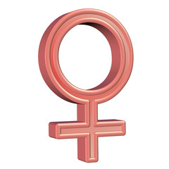 Weiblich - Symbol