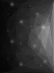 Abstract modern style polygon background