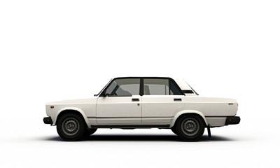 old car profile