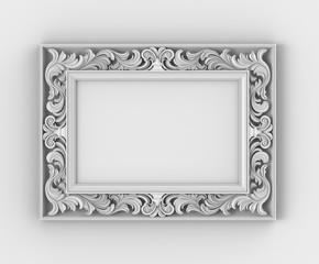 Frame with thread