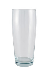 Tall glass isolated