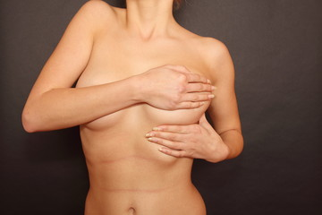 Obraz Badanie piersi - 3 - fototapety do salonu