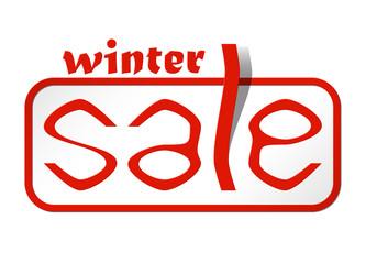 sale card winter