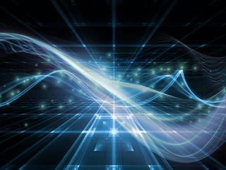 Unfolding of Fractal Realms
