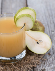 Homemade Pear Juice