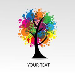 Vector- color tree