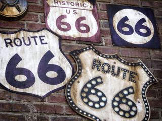 Fotobehang Route 66 Route 66 Collection