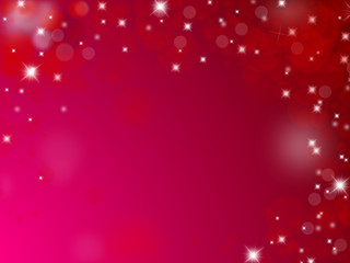 Red and pink christmas background with text space