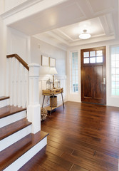 Entryway and Foyer in New Luxury Home
