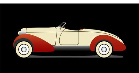 Old cabriolet