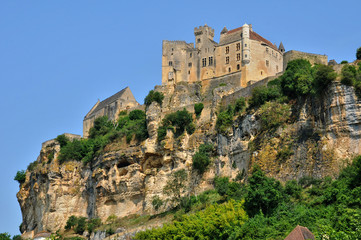 Printed roller blinds Castle France, middle age castle of Beynac in Dordogne