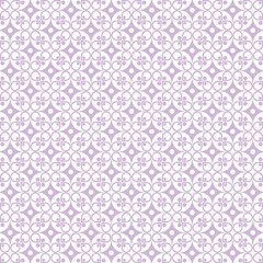 Seamless Dots and Floral Background
