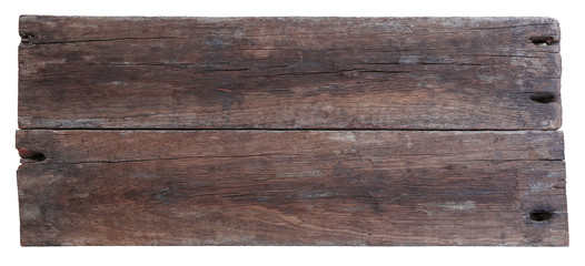 Two old planks of driftwood Wall mural