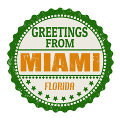 Miami stamp