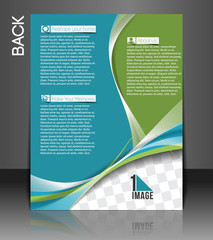 Interior Decorator Back Flyer Template