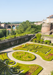 Albi, Palais de la Berbie, garden