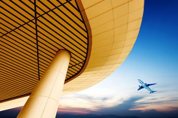 Terminal and aircraft