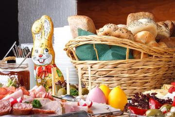 Wall Mural - Foodstuff Easter / Ostermenü