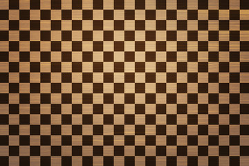 Wooden Chess Board Texture