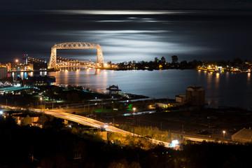 Duluth Minnesota Night Time