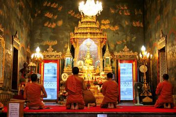 Wall Murals Nepal Buddhist Temple