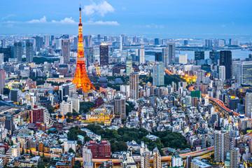 Foto auf AluDibond Tokio Tokyo, Japan