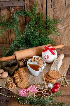 .Christmas little places oatmeal