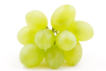 Bunch of white grape(White Muscat) isolated Fototapete