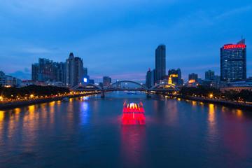 Pearl River at Guangzhou , China