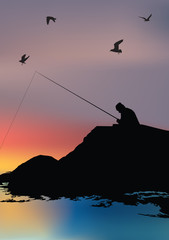 pescatore e il mare