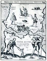 Strait of Magellan; 1626, Hulsius, Deliniatio Freti Magellanici