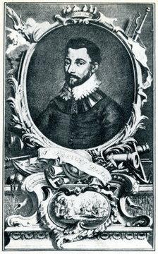 Francis Drake, english vice admiral and privateer