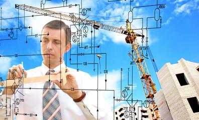 ineering construction designing.Engineer designer