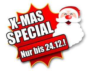 """Siegel """"X-Mas Special - Nur bis 24.12.!"""""""