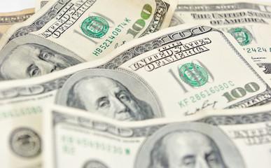Background of dollar bills.