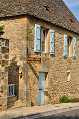 France, picturesque village of Saint Genies in Dordogne