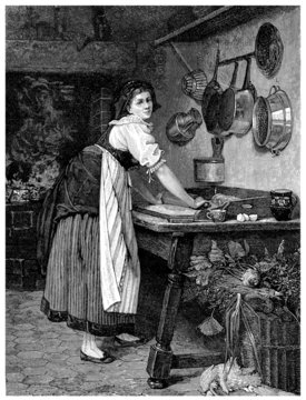 Traditional Cooking - 1888
