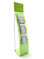 ECO Stand for promotional material