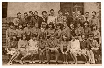 High School Classmates - circa 1965