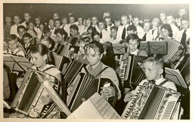 Concert (children) - circa 1955