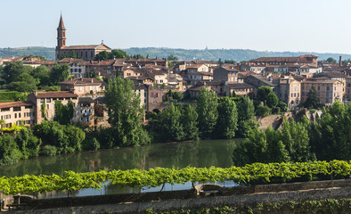Albi, panoramic view