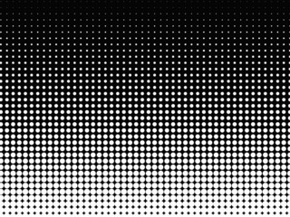 Halftone Background Black White