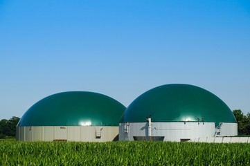 Biogasanlage, Gärbehälter