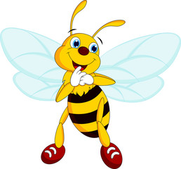 cute and adorable bee