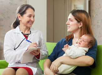 doctor of prescribes to baby the medication